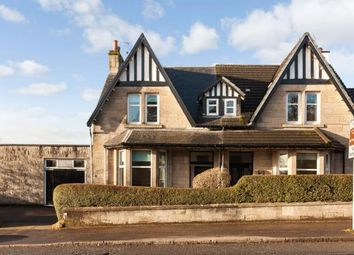 Thumbnail 3 bed semi-detached house for sale in Glasgow Road, Milngavie, Glasgow, East Dunbartonshire