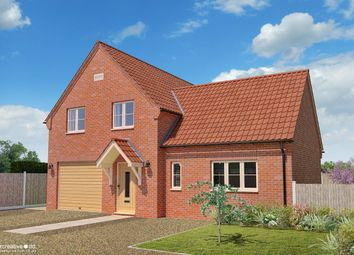 Thumbnail 3 bed detached house for sale in Chapel Road, Pott Row, King's Lynn