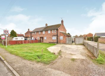 Thumbnail 3 bed semi-detached house for sale in Dennys Walk, Narborough, King's Lynn
