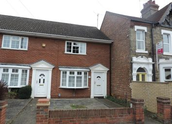 Thumbnail 2 bed terraced house to rent in Lincoln Road, Peterborough