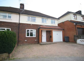 Thumbnail 4 bed semi-detached house to rent in Church Close, Brentwood