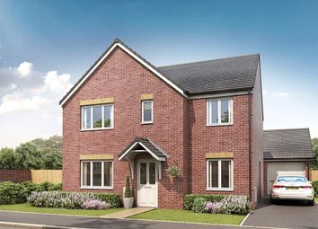 """Thumbnail 5 bed detached house for sale in """"The Corfe"""" at Norton Hall Lane, Norton Canes, Cannock"""