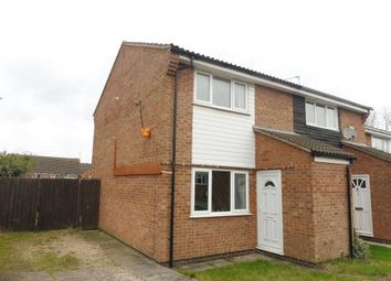 Thumbnail 2 bed semi-detached house to rent in Wexford Close, Oadby, Leicester