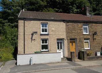 Thumbnail 2 bed end terrace house to rent in Pentrebach Road, Pontypridd