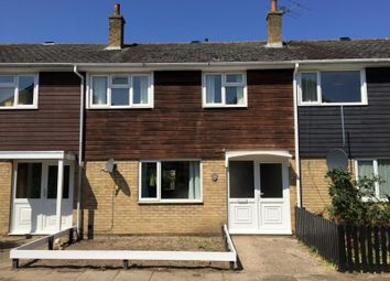 Thumbnail 3 bed terraced house to rent in Pembroke Close, Mildenhall, Bury St. Edmunds