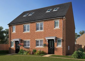 """Thumbnail 3 bed semi-detached house for sale in """"The Newstead"""" at Station Road, Kirk Hammerton, York, Kirk Hammerton"""