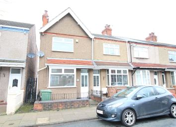 Thumbnail 2 bed end terrace house for sale in Fairmont Road, Grimsby