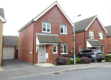 Thumbnail 3 bed link-detached house for sale in Hubbards Close, Saxmundham