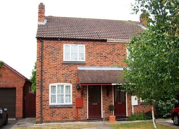 Thumbnail 2 bedroom semi-detached house to rent in Thornhills Grove, The Pastures, Narborough