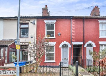 Thumbnail 2 bedroom terraced house for sale in Quebec Road, Norwich