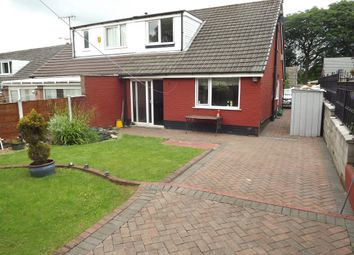Thumbnail 3 bed semi-detached bungalow for sale in Boulsworth Crescent, Nelson