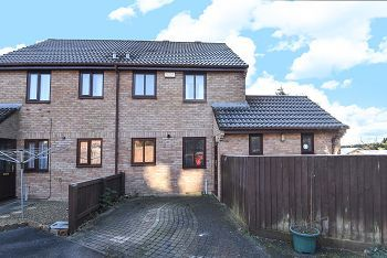 Thumbnail 2 bed semi-detached house for sale in Morley Field, Warminster