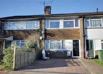Thumbnail 3 bed terraced house for sale in North Court Close, Rustington, Littlehampton, West Sussex