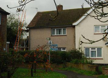 Thumbnail 2 bed semi-detached house to rent in Gainsborough Gardens, Tonbridge
