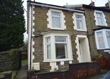 Thumbnail 2 bed end terrace house to rent in Stow Hill, Treforest, Pontypridd