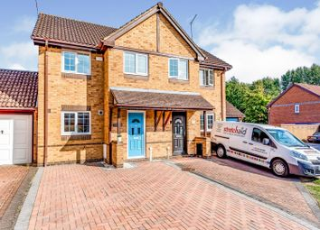 Thumbnail 2 bed semi-detached house for sale in Lyndsey Close, Farnborough