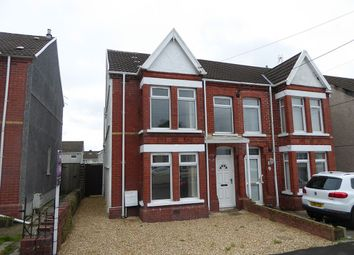Thumbnail 3 bed semi-detached house for sale in Coalbrook Road, Grovesend, Swansea