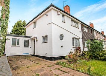 Thumbnail 3 bed end terrace house for sale in Bell Lane, Tile Cross, Birmingham