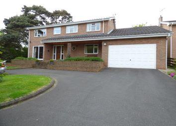 Thumbnail 4 bed detached house for sale in Bieston Close, Little Acton, Wrexham, Wrecsam