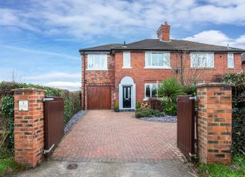 Thumbnail 4 bed semi-detached house for sale in Giantswood Lane, Hulme Walfield, Congleton