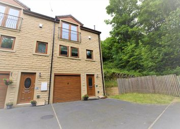 Thumbnail 3 bed town house for sale in Windmill Terrace, Berry Brow, Huddersfield