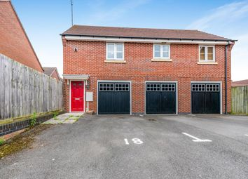 Thumbnail 2 bed flat to rent in Bancroft Way, Wootton, Northampton