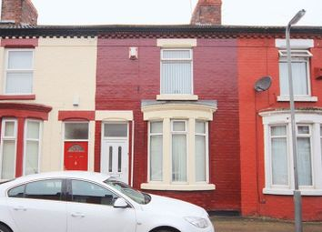 Thumbnail 2 bed terraced house for sale in Sunbeam Road, Old Swan, Liverpool L13.