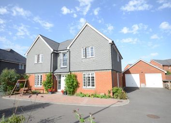 Thumbnail 5 bed detached house to rent in Elk Path, Three Mile Cross, Reading