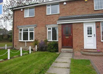 Thumbnail 2 bed town house to rent in Ashmore Drive, Gawthorpe, Ossett