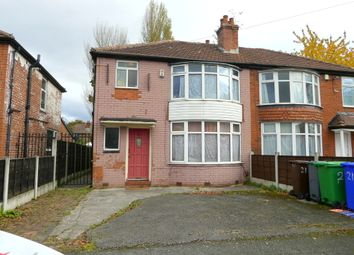 Thumbnail 4 bedroom semi-detached house to rent in Lathom Road, Withington, Manchester