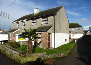 Thumbnail 2 bed semi-detached house to rent in Chapel Close, Mutton Hill, Connor Downs, Hayle