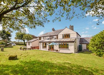 Thumbnail 5 bed detached house for sale in The Butts, Tintagel