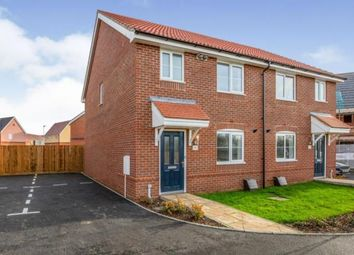 Thumbnail 3 bedroom semi-detached house for sale in Goldfinch Drive, Attleborough