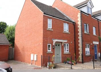 Thumbnail 2 bed end terrace house for sale in Halyard Drive, Bridgwater