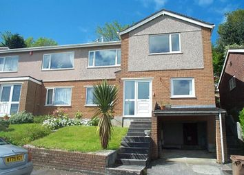 Thumbnail 3 bedroom semi-detached house to rent in Erlstoke Close, Eggbuckland, Plymouth, Devon