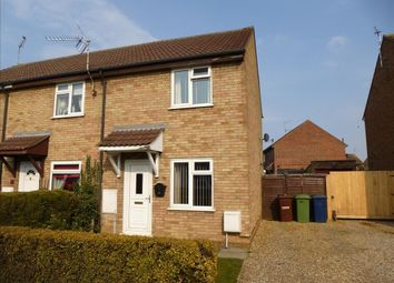 Thumbnail 2 bed end terrace house to rent in Tinkers Drove, Wisbech, Cambs
