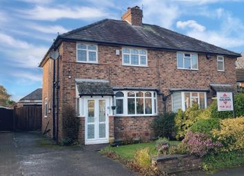 Thumbnail 3 bed semi-detached house for sale in Windsor Avenue, Wilmslow