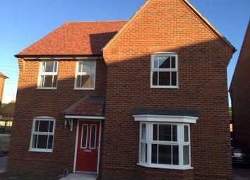 Thumbnail 4 bed detached house to rent in Weldon Road, Ebbsfleet Valley, Swanscombe