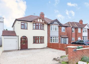 Thumbnail 3 bed semi-detached house for sale in Loughborough Road, Birstall, Leicester, Leicestershire