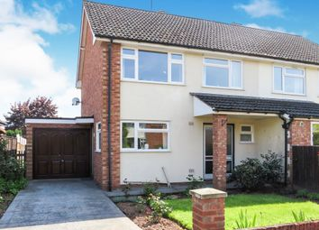 Thumbnail 3 bed semi-detached house for sale in Holmer Manor Close, Holmer, Hereford