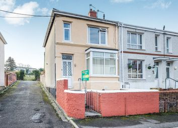 Thumbnail 3 bed end terrace house for sale in Wallace Road, Cimla, Neath