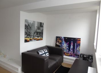 Thumbnail 1 bed flat to rent in The Cube, Cowbridge Road East, Cardiff