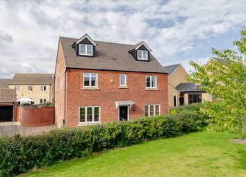 Thumbnail 5 bed detached house for sale in Swaledale End, Oakridge Park, Milton Keynes