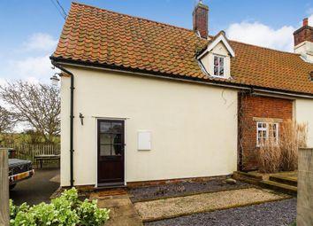 Thumbnail 1 bed flat to rent in Church Cottage, Church Road, Blaxhall, Woodbridge