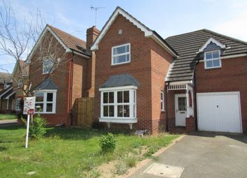 Thumbnail 3 bed detached house to rent in Brickberry Close, Hampton