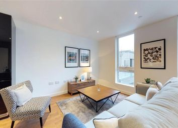 Thumbnail 2 bed flat for sale in Discovery Tower, London