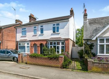 Thumbnail 3 bed semi-detached house for sale in Roundwood Road, Ipswich