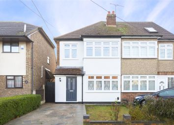 Thumbnail 3 bedroom semi-detached house for sale in Kings Gardens, Upminster, Essex