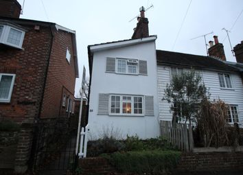 Thumbnail 2 bed terraced house to rent in The Terrace, Chipstead Lane, Riverhead, Sevenoaks