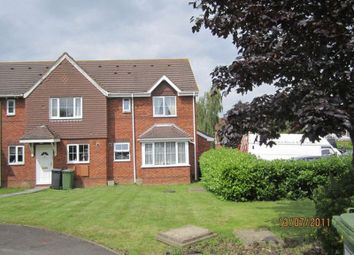 Thumbnail 1 bed terraced house to rent in Tresham Close, Bradley Stoke, Bristol